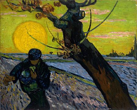 フィンセント・ファン・ゴッホ 種まく人 1888年 ファン・ゴッホ美術館(フィンセント・ファン・ゴッホ財団)©Van Gogh Museum, Amsterdam (Vincent van Gogh Foundation)