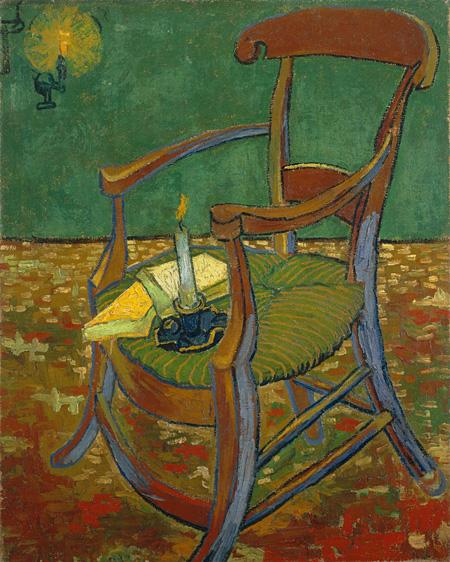 フィンセント・ファン・ゴッホ ゴーギャンの椅子 1888年 ファン・ゴッホ美術館(フィンセント・ファン・ゴッホ財団)©Van Gogh Museum, Amsterdam (Vincent van Gogh Foundation)