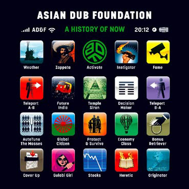 Asian Dub Foundation『A History Of Now』ジャケット