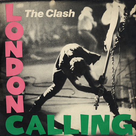London Calling Cover, Created by Ray Lowry ©Pennie Smith