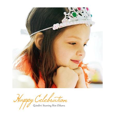 Q;indivi starring Rin Oikawa『Happy Celebraion』ジャケット