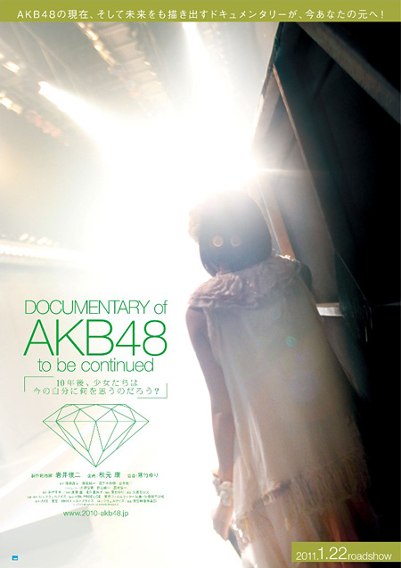 『DOCUMENTARY of AKB48 to be continued 10年後、少女たちは今の自分に何を思うのだろう?』ポスタービジュアル ©「DOCUMENTARY of AKB48」製作委員会