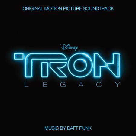 『トロン:レガシー オリジナル・サウンドトラック』ジャケット ©Disney Enterprises, Inc.