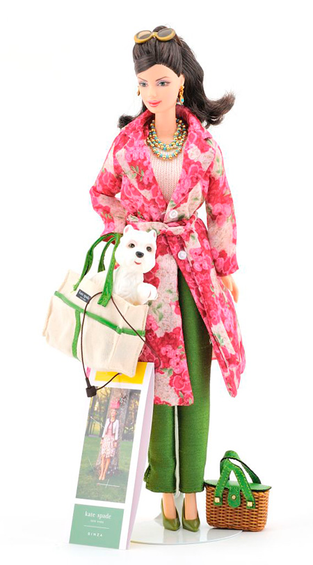 2004 ケイト・スペードバービー ©2010Mattel,Inc.All Rights Reserved. ©2003 Kate Spade
