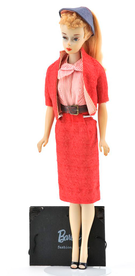 1960 No,3 ポニーテールバービー Busy Gal ©2010Mattel,Inc.All Rights Reserved.