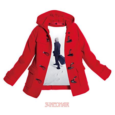 スネオヘアー『赤いコート』ジャケット