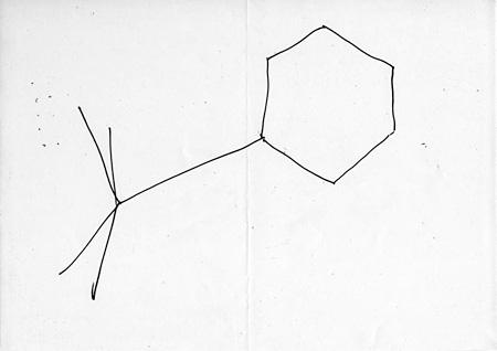 GENGA #1066 | マーカー、紙 | 210 × 297 mm