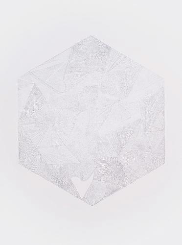 U #001 |マーカー、紙 | 770 × 570 mm