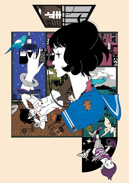 アニメーション部門大賞『四畳半神話大系』作者:湯浅 政明 © 四畳半主義者の会