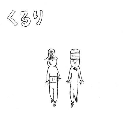 くるり(イラスト:吉田戦車)