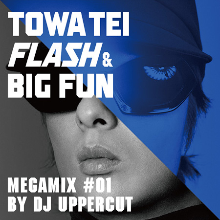 『TOWA TEI FLASH & BIG FUN MEGAMIX #01 by DJ UPPERCUT』ジャケット