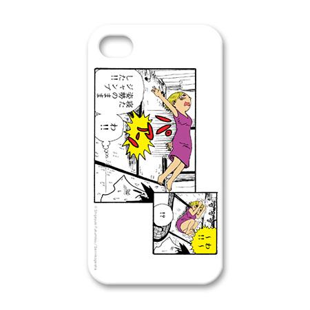 福満しげゆき Apple iPhone4ケース(クリア)