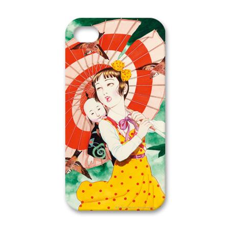 丸尾末広 Apple iPhone4ケース(クリア)