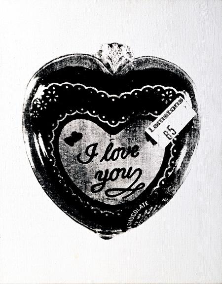アンディ・ウォーホル『I love You』1986