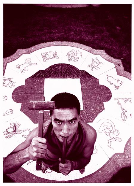 細江英公『薔薇刑#5 / Ordeal by Roses #5』1961 565x383mm プラチナ・パラジウムプリント