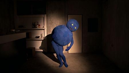 山本篤『青いおばけ』2010
