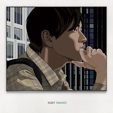 FLEET『TRANSIT』ジャケット