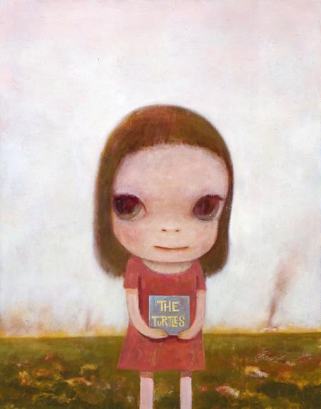 奈良美智 「Eve of Destruction」 カンヴァスにアクリル絵具 2006年