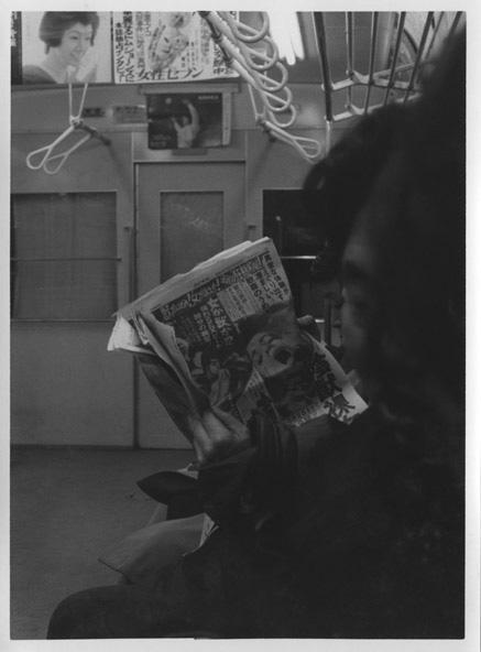 「愛の劇場」1965年頃 B & W プリント print size: 16.4 x 12.1 cm Courtesy of Taka Ishii Gallery