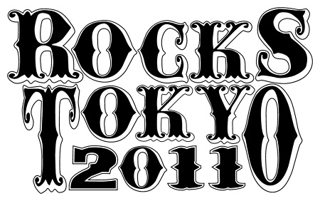『ROCKS TOKYO 2011』ロゴ