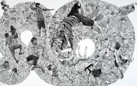 VOCA展2011 佳作賞 熊澤未来子「より未来へ」(撮影者©上野則宏)