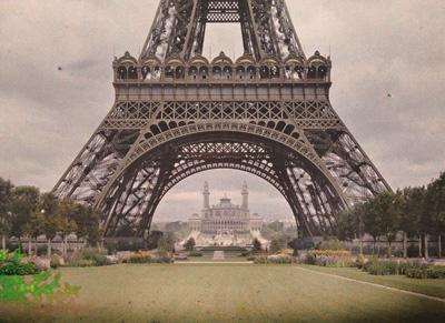 パリ 1912年 ©Musée Albert-Kahn - département des Hauts-de-Seine.