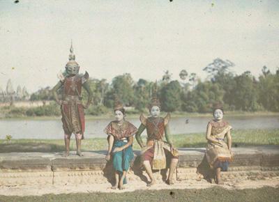 カンボジア ©Musée Albert-Kahn - département des Hauts-de-Seine.