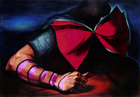 傷ましき腕 1936/49 川崎市岡本太郎美術館 ©岡本太郎記念現代芸術振興財団