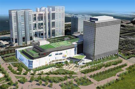 (仮称)青海Q街区計画 イメージ
