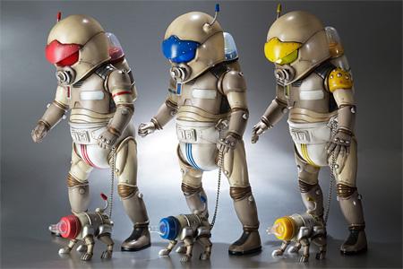 向井正一(Gallery Fukuda)『Babytector back packers - front image - 』