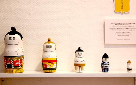 昨年の展示の様子 サタケシュンスケの作品 Pater's Shop & Gallery(渋谷区神宮前)(all photo by 佐々木知子)