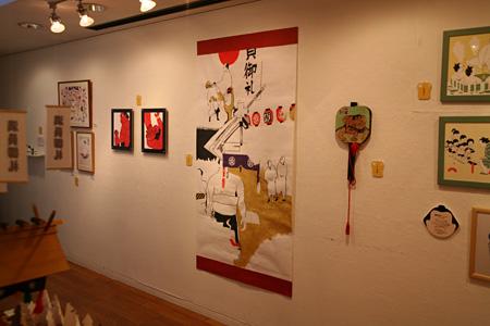 昨年の展示の様子 Pater's Shop & Gallery(渋谷区神宮前)(all photo by 佐々木知子)