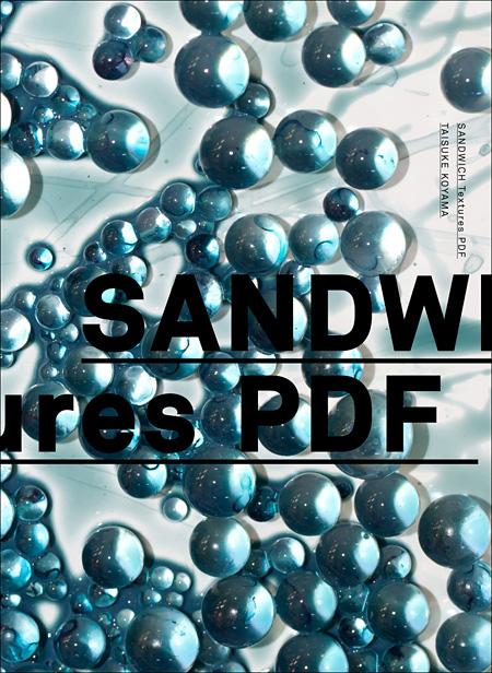 小山泰介PDF写真集『SANDWICH Textures PDF』