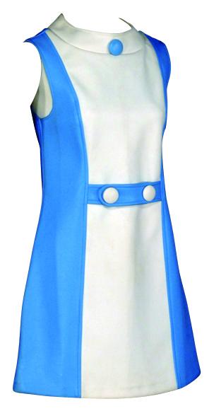 デイ・ドレス 1965-66年頃 神戸ファッション美術館蔵