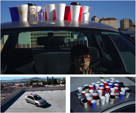 田中 功起/TANAKA Koki TANAKA Koki《cups on a car》 2010