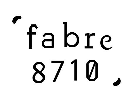 fabre8710 ロゴタイプ