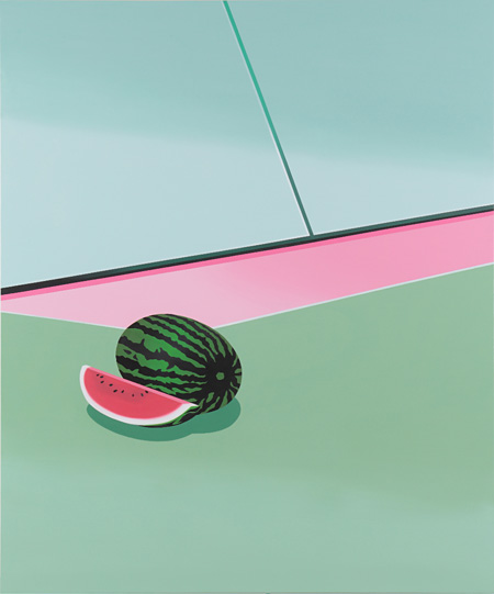 Tomoki Kurokawa [ Watermelon ] Acrylic Painting on Canvas 1940 × 1620 mm 2011
