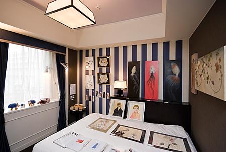 copyright:Gallery IDF / ART FAIR KYOTO Committee / Hotel Monterey Kyoto / 2010-2011 photo:Nobutada Omote