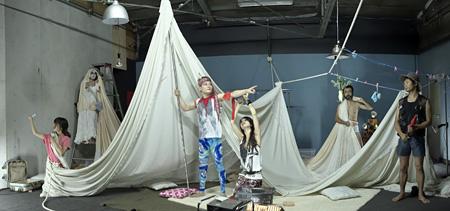2010年サンプル「自慢の息子」 撮影:青木司