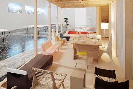 〈第12回ヴェネチア・ビエンナーレ国際建築展日本館 展示風景〉 2010 写真提供:国際協力基金 photo: Andrea Sarti/CAST1466