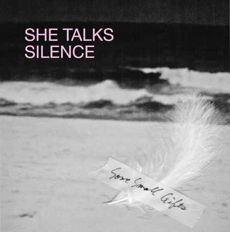 She Talks Silence『SOME SMALL GIFTS』ジャケット