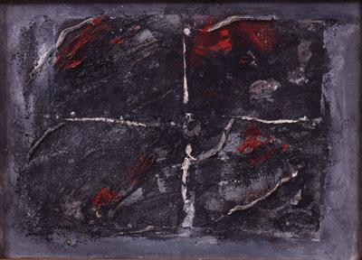 ヴォルス《構成》 1947年、国立国際美術館