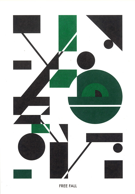 """XAVIER VEILHAN - FREE FALL"" Espace Louis Vuitton 東京の為のドローイング 2011 ©Hideki Inaba"