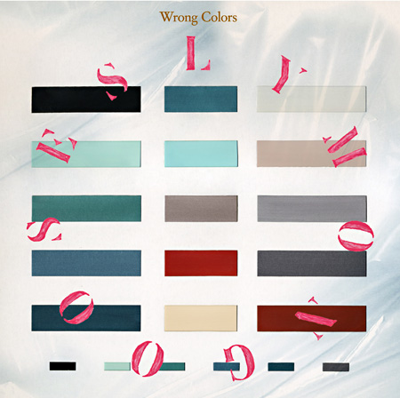 SLY MONGOOSE『Wrong Colors』ジャケット