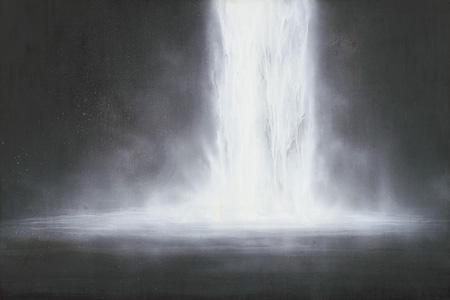 ウォーターフォール Warterfall 1996 ©軽井沢千住博美術館 ©HIROSHI SENJU MUSEUM KARUIZAWA