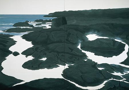 フラットウォーター #9 Flatwater #9 1991 ©軽井沢千住博美術館 ©HIROSHI SENJU MUSEUM KARUIZAWA