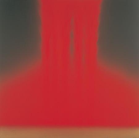 フォーリングカラー Falling Color 2005 ©軽井沢千住博美術館 ©HIROSHI SENJU MUSEUM KARUIZAWA
