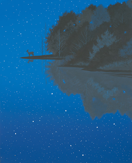 星のふる夜に #10 When the Stardust Falls #10 1994 ©軽井沢千住博美術館 ©HIROSHI SENJU MUSEUM KARUIZAWA