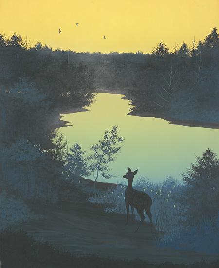 星のふる夜に #14 When the Stardust Falls #14 1994 ©軽井沢千住博美術館 ©HIROSHI SENJU MUSEUM KARUIZAWA
