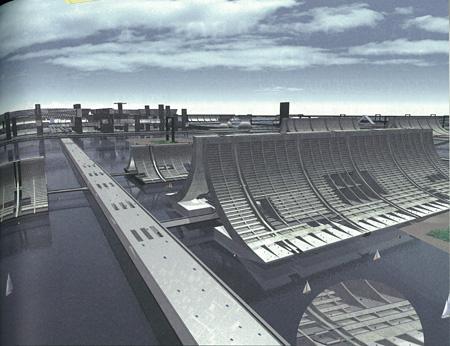 《復原「東京計画 1960」》 2008年 CG制作:UPG.@S.I.T
